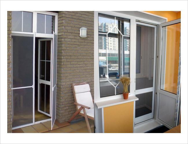 Москитные сетки на пластиковые окна и балконные двери в симф.